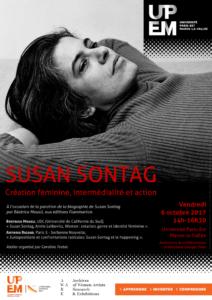 Atelier Susan Sontag - Affiche